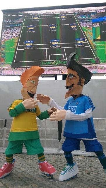 Sports themed entertainers, Football entertaiiner Ireland