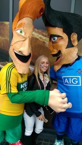 Sports themed entertainers, Football entertainers smithfield, Dublin