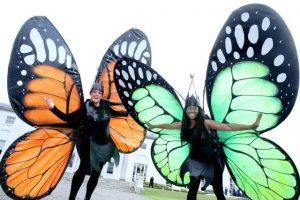 Garden themed entertainers, Best themed entertainment Ireland, garden themed entertainers, street performers ireland