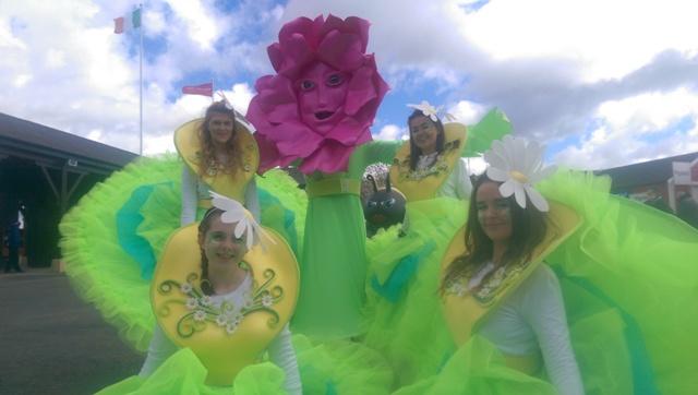 Garden Themed entertainers