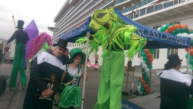 Celtic themed entertainment, irish wecome