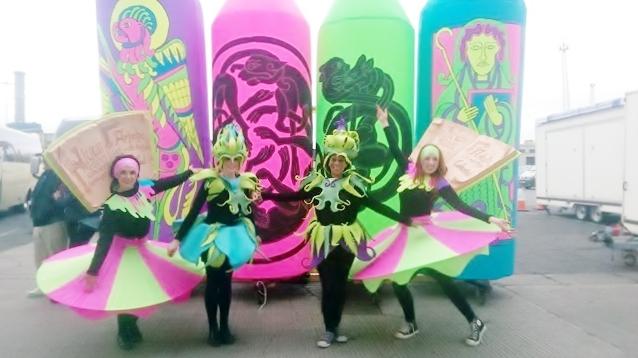 Celtic themed entertainment, celtic dancers