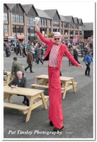 Stilt walkers Ireland, Street entertainers Ireland, Circus acts