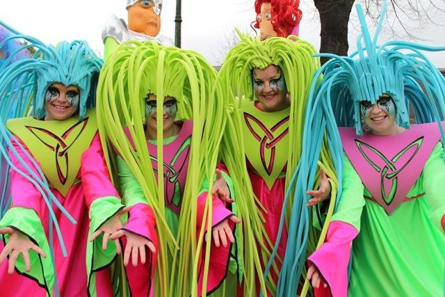 Celtic themed entertainment, Celtic women entertainers