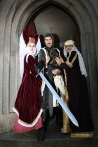 Medieval theme entertainers, street entertainers, entertainment