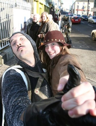 Medieval themed entertainers, Street entertaiment